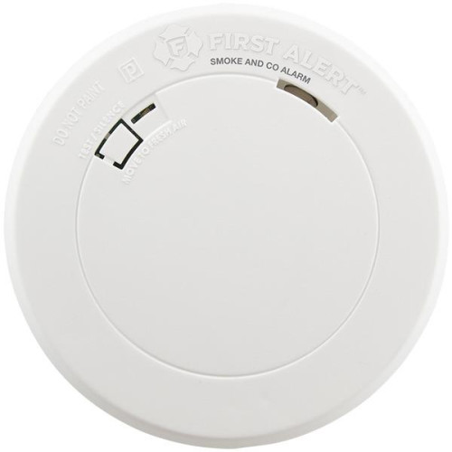 Battery-Operated Photoelectric Smoke Alarm