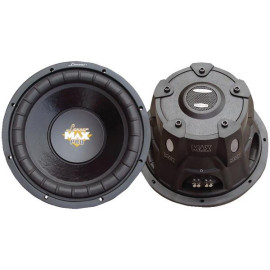 """Maxpro Series Small 4Ohm Dual Subwoofer (10"""", 1,200 Watts)"""