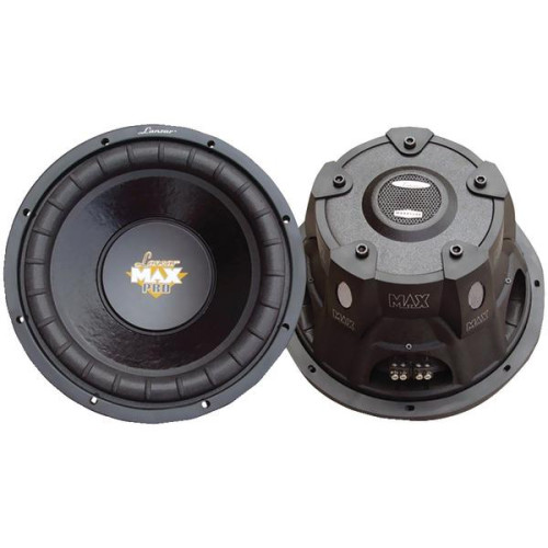 "Maxpro Series Small 4Ohm Dual Subwoofer (10"", 1,200 Watts)"