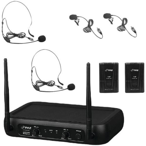 Vhf Fixed-Frequency Wireless Microphone System