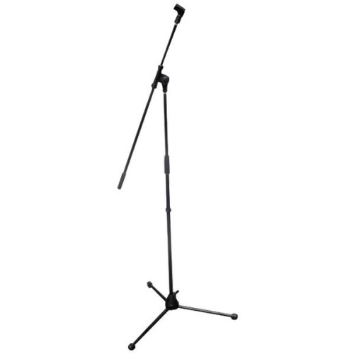 Tripod Microphone Stand With Extending Boom