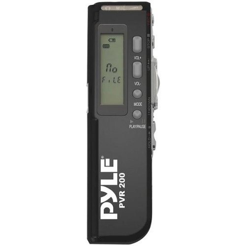 Digital Voice Recorder With 4Gb Built-In Memory