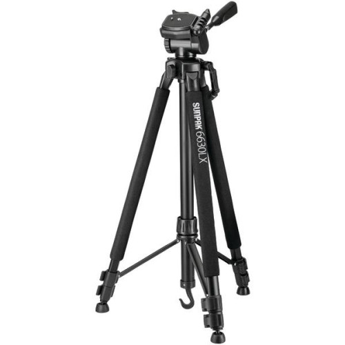 """6630Lx 66"""" Photo/Video Tripod With Adapters"""