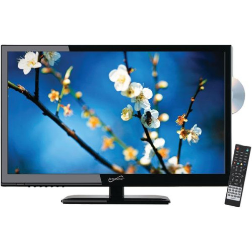 """24"""" 1080P Led Tv/Dvd Combination, Ac/Dc Compatible With Rv/Boat"""