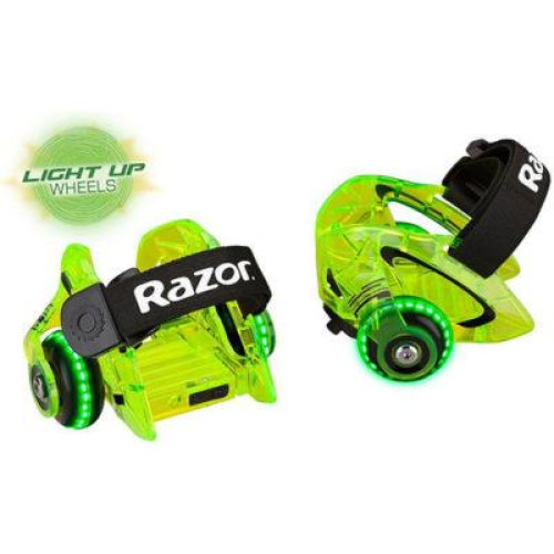 Jetts Dlx Heel Wheels - Neon Green