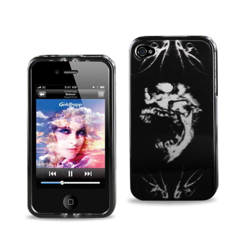 2D Protector Cover IPHONE 4S SKULL