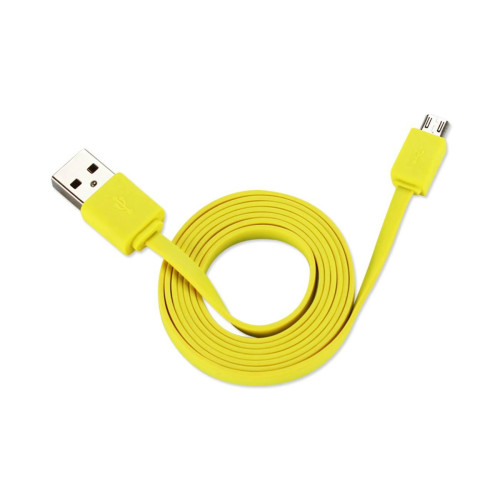 39.9INCHES OF STRONG, TANGLE-FREE, FLAT CABLE FOR MICRO USB