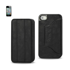 FITTING Case iphone 4 HORSE SKIN TEXTURE BLACK