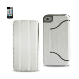 FITTING Case iphone 4 HORSE SKIN TEXTURE WHITE