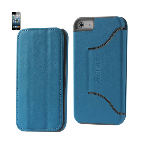 FITTING Case iphone 5 HORSE SKIN TEXTURE BLUE