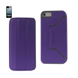 FITTING Case iphone 5 HORSE SKIN TEXTURE PURPLE