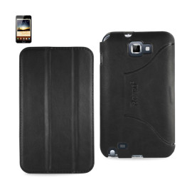 FITTING Case Samsung Galaxy Note I9220 HORSE SKIN TEXTURE
