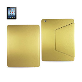 FITTING CASE TRAPEZOID CLIP IPAD3 GLOVE LEATHER LIGHT YELLOW