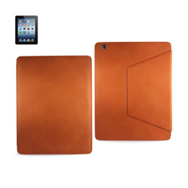 FITTING CASE TRAPEZOID CLIP IPAD3 GLOVE LEATHER ORANGE