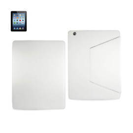 FITTING CASE TRAPEZOID CLIP IPAD3 GLOVE LEATHER WHITE