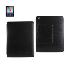 FITTING CASE WITH SMALL POCKET IPAD3 HORSE SKIN PATTERN BLAC