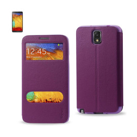 FITTING CASE LYCHEE PATTERN FOR Samsung Galaxy NOTE 3 PURPL