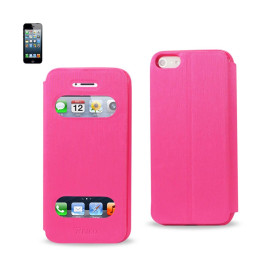 FITTING CASE WITH TPU MATERIAL IPHONE5 HOT PINK