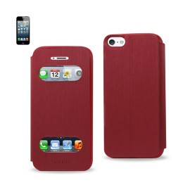 FITTING CASE WITH TPU MATERIAL IPHONE5 RED