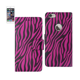 WALLET CASE 3 IN 1 FOR IPHONE6 4.7inch ZEBRA PATTERN HOT PIN