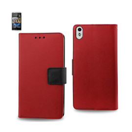 WALLET CASE 3 IN 1 FOR HTC Desire 816 RED