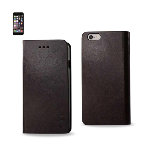 FLIP CASE WITH CARD HOLDER FOR IPHONE6 PLUS 5.5inch BROWN
