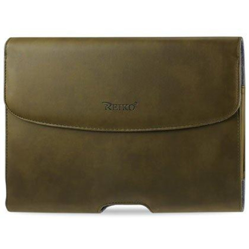 Horizontal Pouch Apple iPad3 PLUS ARMY HORSE SKIN PATTERN