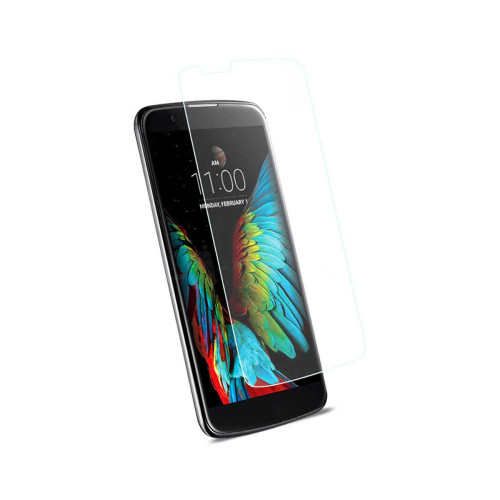 REIKO LG K10 TEMPERED GLASS SCREEN PROTECTOR IN CLEAR
