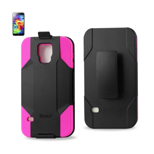 Silicone Case + Protector Cover Samsung GALAXY S5