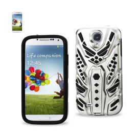 SILICON + PC COVER WITH PATTERN KICKSTAND SAMSUNG GALAXY S4