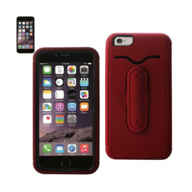 Multifunction hybrid case IPHONE6 PLUS 5.5INCH RED