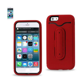 Multifunction hybrid case IPHONE6 4.7inch RED
