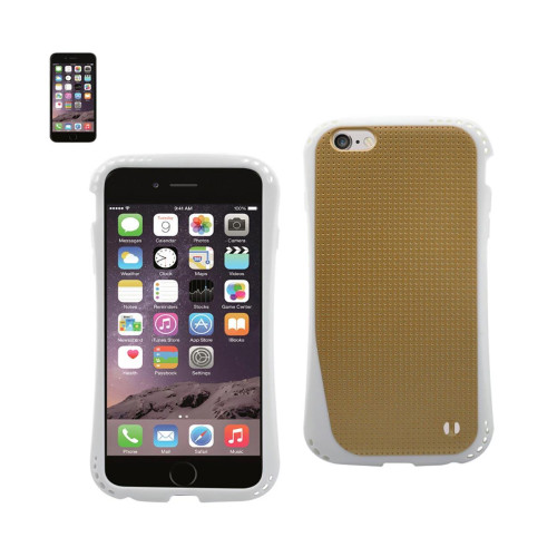 DUAL COLOR TPU CASE FOR IPHONE 6 PLUS 5.5INCH GOLD