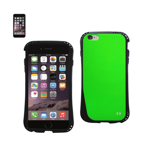DUAL COLOR TPU CASE FOR IPHONE 6 PLUS 5.5INCH GREEN