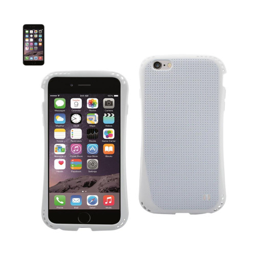 DUAL COLOR TPU CASE FOR IPHONE 6 PLUS 5.5INCH WHITE