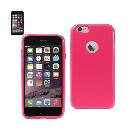 Dual Layer Protector Cover TPU+PC iPhone6 plus 5.5inch Pink