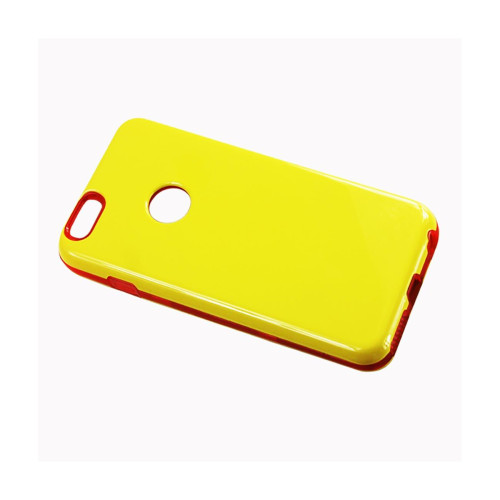 Dual Layer Protector Cover TPU+PC iPhone6 plus 5.5inch Yello