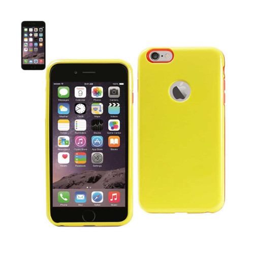Dual Layer Protector Cover TPU+PC iPhone6 4.7inch Yellow