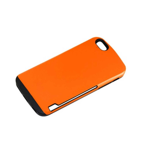 Dual Color TPU+PC COVER FOR IPHONE6 PLUS 5.5INCH ORANGE