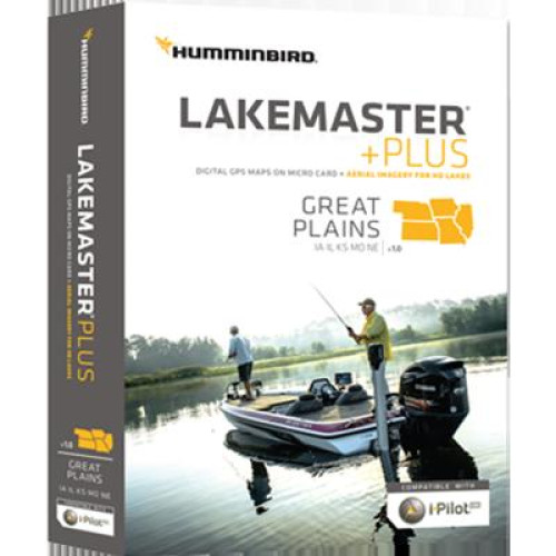 Lakemaster+ Maps, Great Plains