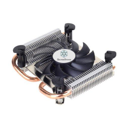 Thin Mini-Itx  Low Profile Cpu Cooler/8010Mm Fan/ 2 X 6 Heat-Pipe /Lga115X