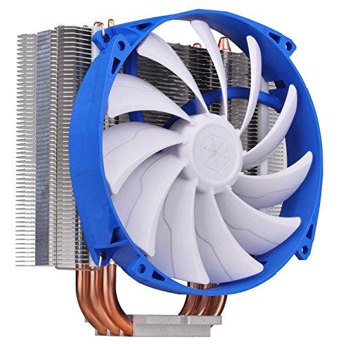Side Blow Air Cpu Cooler / 140 X 140 X 25Mm Pwm Fan With Wire Clip / Universal Socket Solution