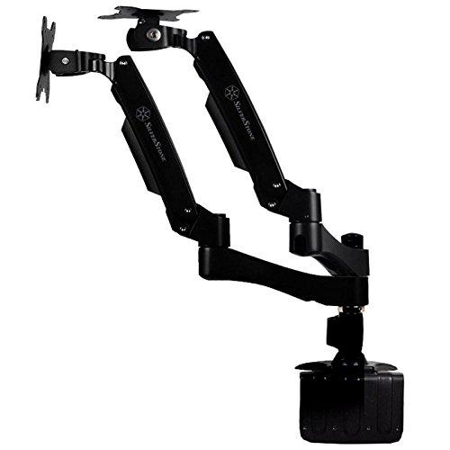Black, Arm Duo Dual Lcd Interactive Monitor Mount