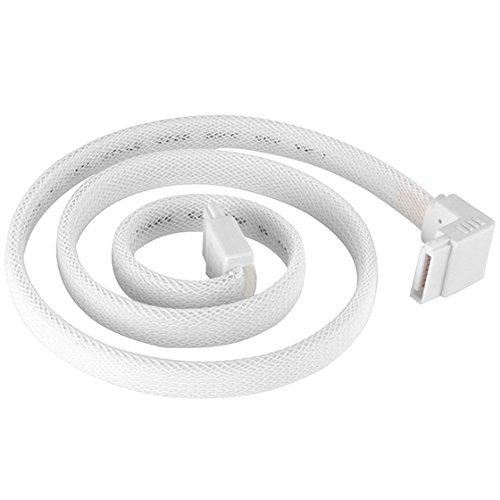 SST-CP08-SATA ? CABLE-90?TO 180?,500MM, white