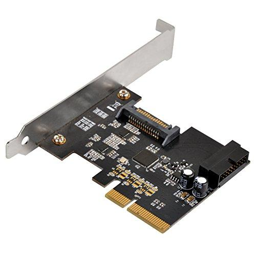 Evolution Of Usb 3.1 Gen2 Pcie Card With Internal 19Pin Connector Plus Pericom Redriver