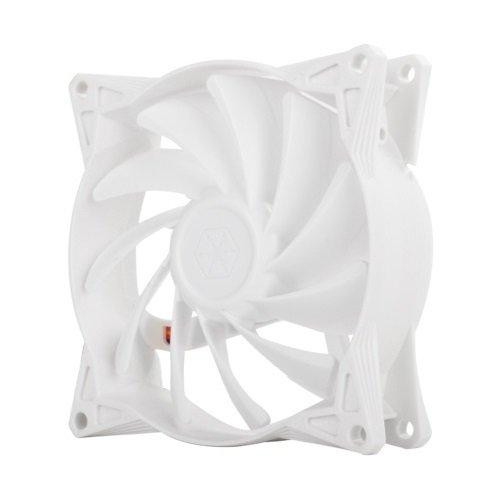 92X92X25Mm / Adjustable Speed Fan / Mixed White Wing Design With White Frame / 3Pin Fan With Speed Controller