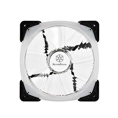 120X120X25Mm / Transparent Wing With Blak Frame / 4Pin Fan With Pwm/ Ball Bearing / Rgb Led