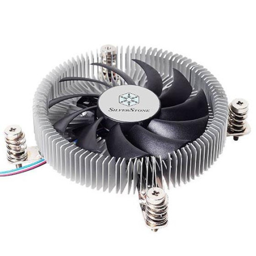 Aluminum extruding with copper/8010 PWM fan/spring screw with back plane/support LGA 1156;1155;1150