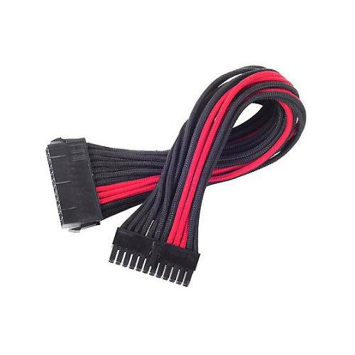 Atx 24Pin To Mb-24Pin(300Mm) Power Cable Extneder, Bicolor- Black & Red