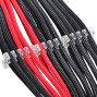 Routing Sleeved Cables For Professional Look And Cable Management